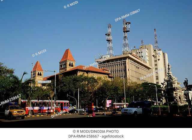 Bharat sanchar nigam limited and Telephone exchange, mumbai, maharashtra, India, Asia