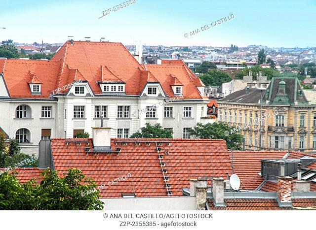 Vienna from Schonbrum palace Austria