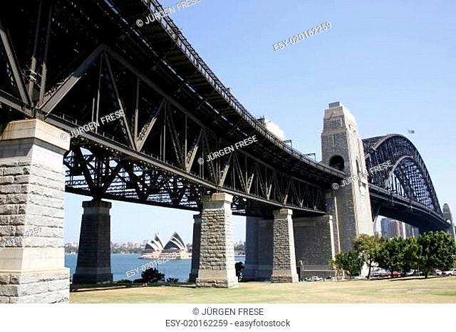 Brückenschlag nach Sydney