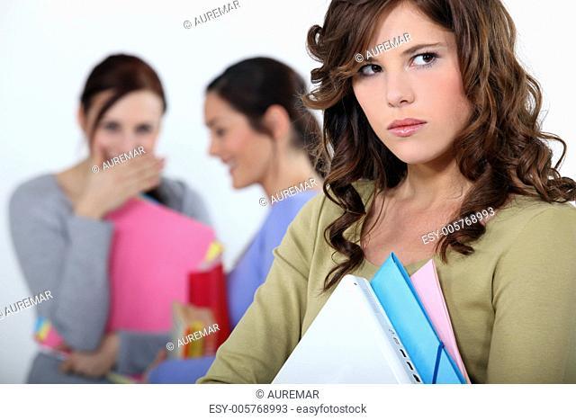Girl being mocked