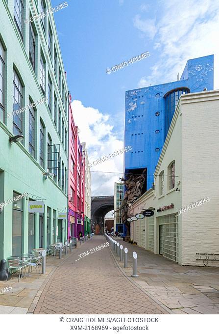 The Custard Factory, Digbeth, Birmingham
