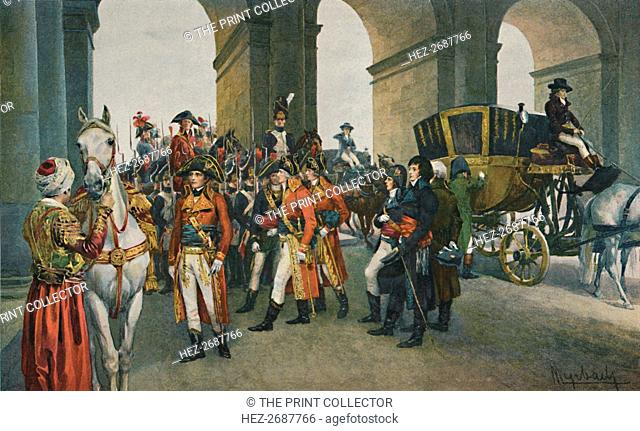 'The Consuls Take Possession of the Tuileries', 10 August 1792, (1896). Artist: Unknown