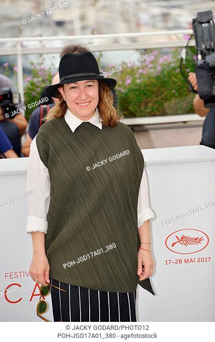 Athina Rachel Tsangari, member of the jury Cinefondation Photocall 70th Cannes Film Festival May 26, 2017 Photo Jacky Godard
