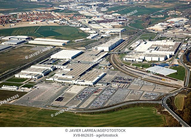 Volkswagen, Landaben industrial area, Pamplona, Navarre, Spain