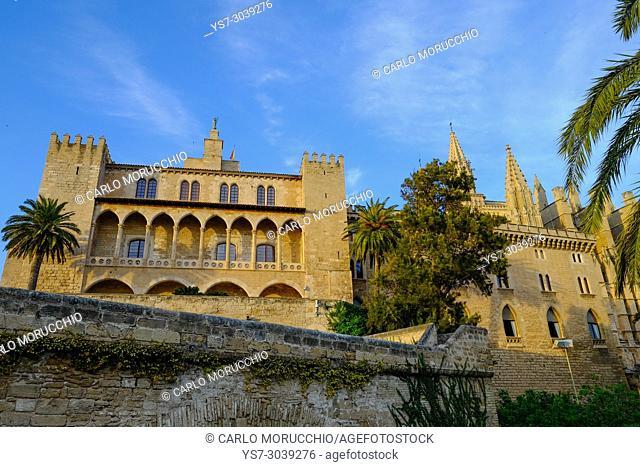 Royal Palace of La Almudaina, Palma, Majorca, Spain