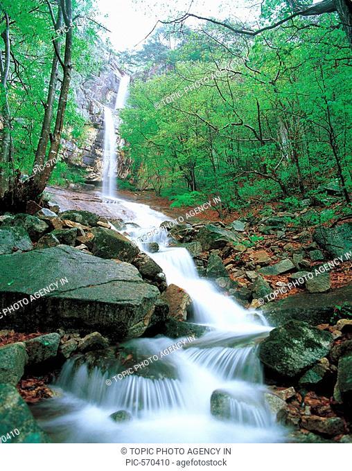 Mt. Woraksan National Park,Chungbuk,Korea
