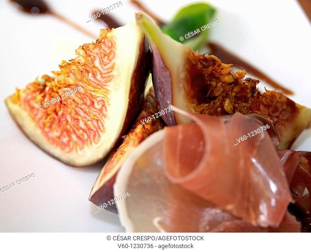 -Figs & Ham- Healthy Food