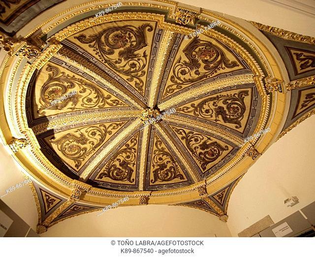Ceiling. Casa do Terreiro, hoy Casa das Artes. Arcos de Valdevez. Portugal