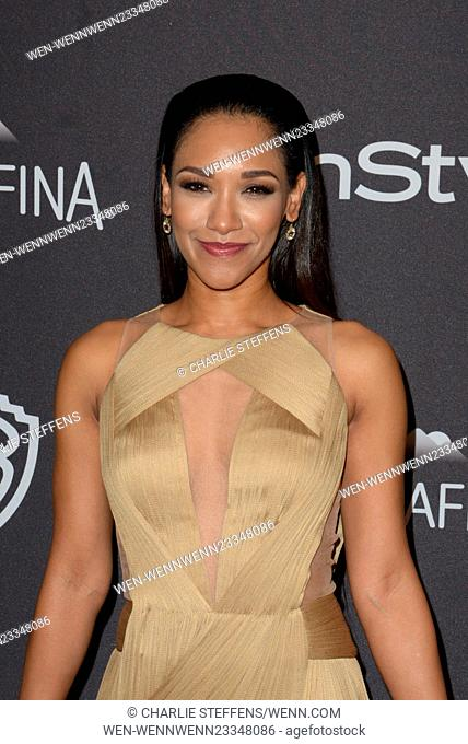 InStyle and Warner Bros 73rd Annual Golden Globes Post-Party at the Beverly Hilton Hotel Featuring: Candice Patton Where: Los Angeles, California