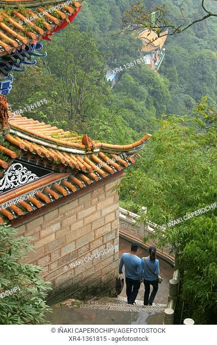 Dragon Gate, Mountains Xi Shi Shan Shan, Yunnan, China