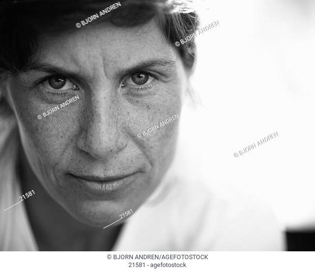 Woman, close-up portrait