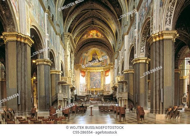 The Duomo (Cathedral). Cremona. Lombardy. Italy