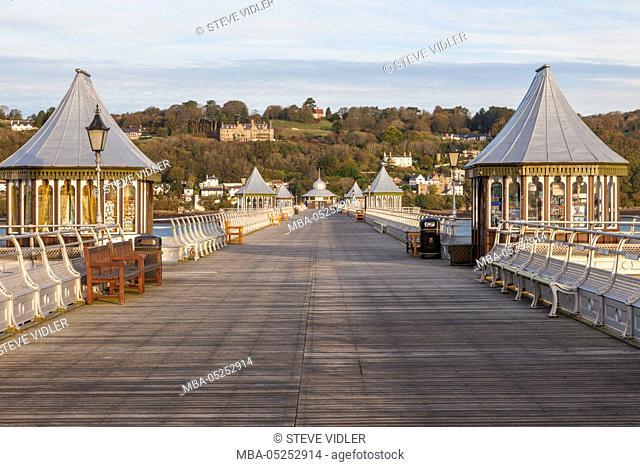 Wales, Bangor, Bangor Pier