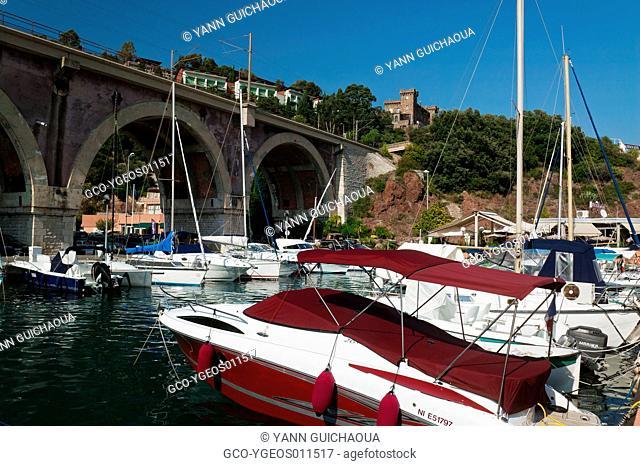 La Napoule, Harbour Of La Rague, French Riviera, France