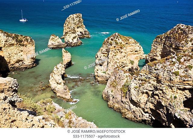 Punta de Piedade in Lagos The Algarve Portugal