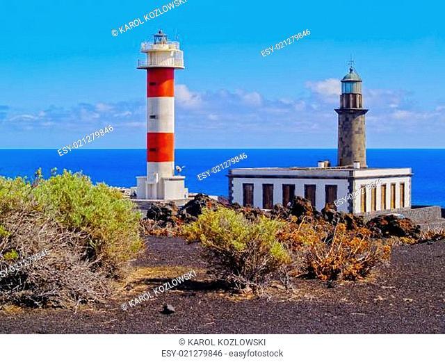 Lighthouse in Fuencaliente on La Palma