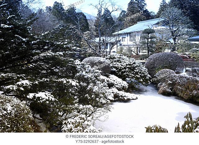 Shoyo-en garden, Rinno-ji temple, Nikko, Tochigi Prefecture, Japan, Asia