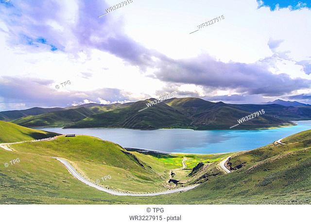 Yang Zhuo Yong CuO;Tibet; China
