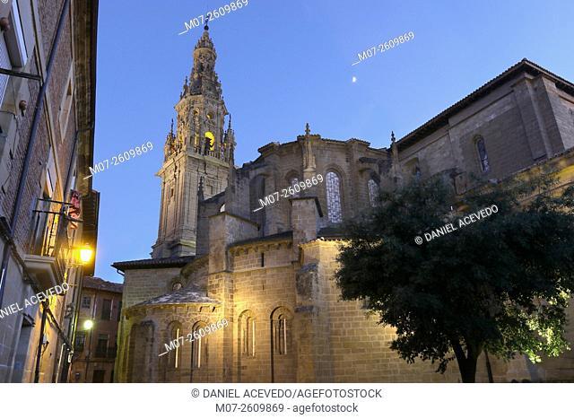 Santo Domingo de la Calzada Cathedral, Camino de Santiago, Santiago way, La Rioja, Spain, Europe