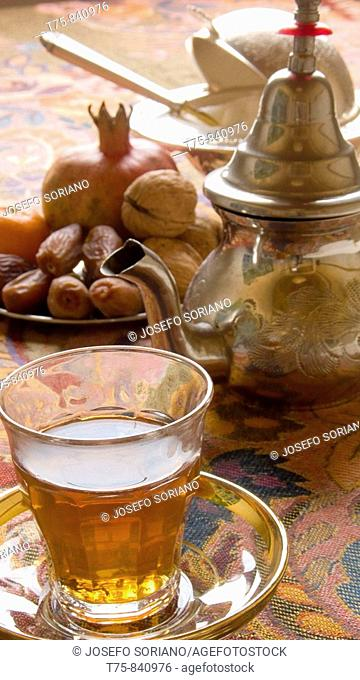 Tea and nuts