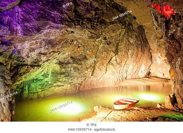 England, Somerset, Wookey Hole, Wookey Hole Caves