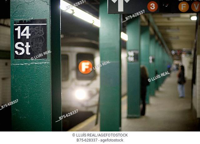 New York underground. NYC, USA