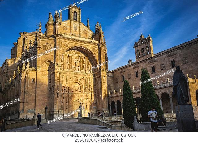 The Convento de San Esteban is a Dominican monastery situated in the Plaza del Concilio de Trento in the city of Salamanca