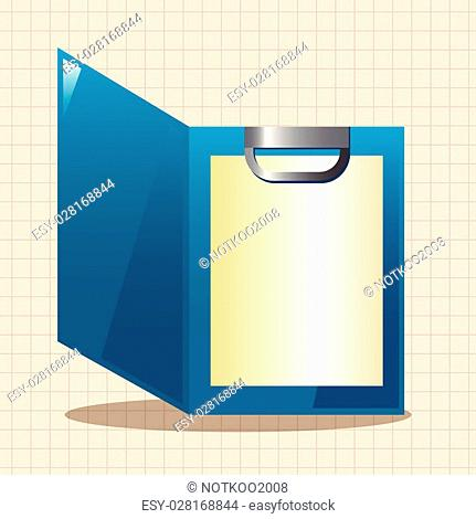 Stationery folder theme elements