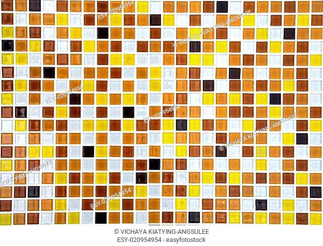 gold ceramic mosaic background