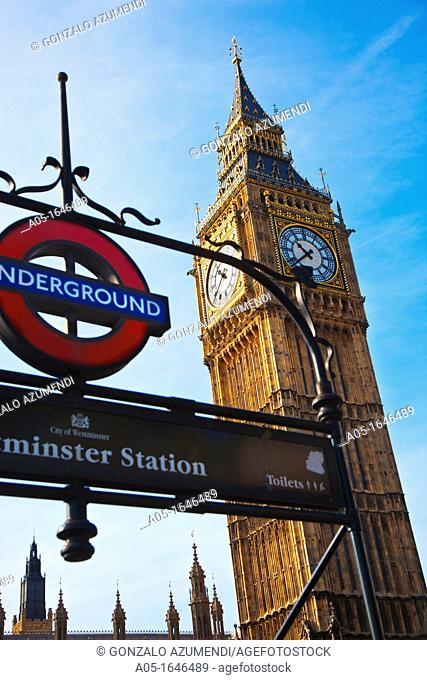 Big Ben, Westminster, London, England, United Kingdom, Europe