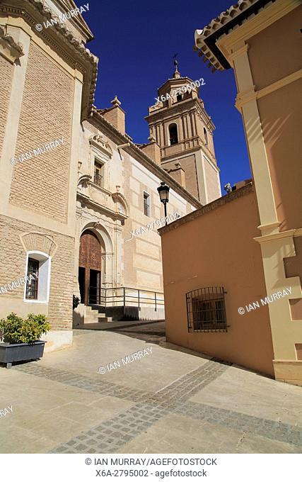 Historic church, Iglesia de Nuestra Señora de la Encarnación, Vélez-Rubio, Almeria province, Spain