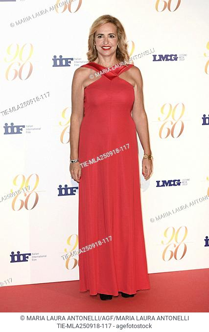 Federica Lucisano during red carpet of 60/90 party, for 60 years of career and ninetieth birthday of Fulvio Lucisano, Italian Film Producer