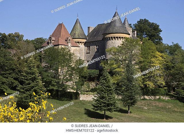 France, Lot, Montcler, The Castle