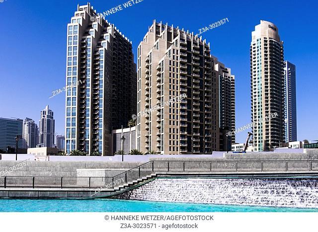 Emaar Properties supertall skyscrapers in Dubai