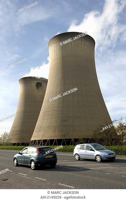 Drax Power Station, near Selby, North Yorkshire; Yorkshire, England