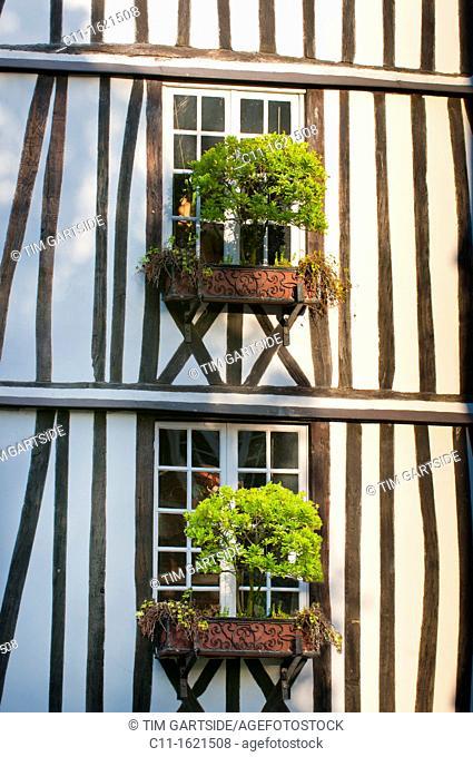 Rue Martainville, Rouen, France , Europe