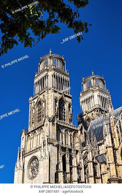 France, Loiret, Orleans, Sainte-Croix cathedral
