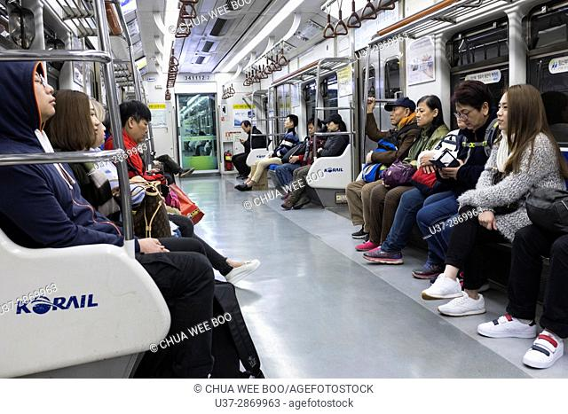 Underground Metro, Seoul, South Korea