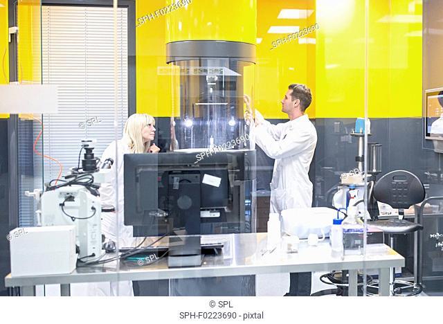 Electrospinning machine