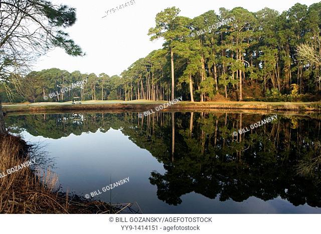 Golf course - Jekyll Island, Georgia USA