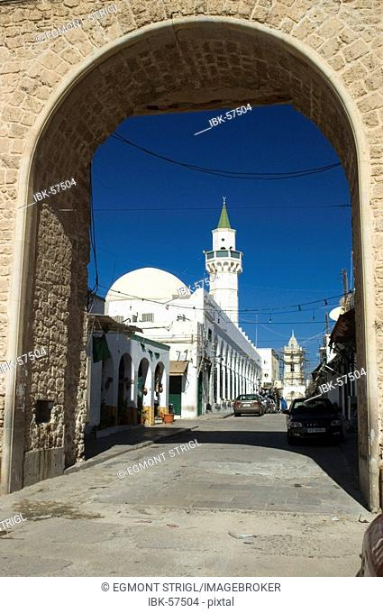 City gate at the green square, Tripoli, Libya