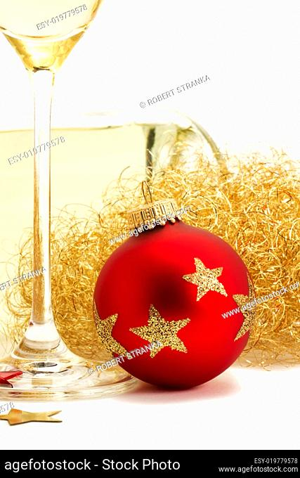 Christbaumkugeln Gestreift.Glass Ball Christmas Decoration Stock Photos And Images