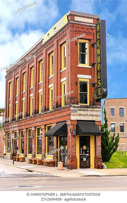 The Terminal Brewhouse pub and restaurant on East 14th street in Chattanooga, TN