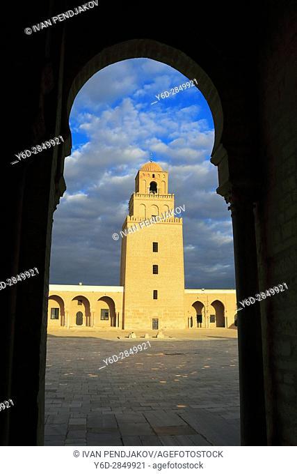 Great Mosque of Kairouan, Tunisia