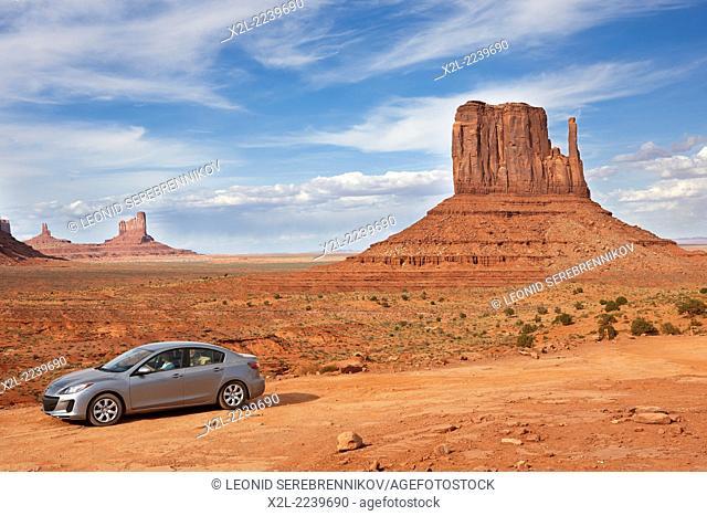 Monument Valley Navajo Tribal Park. Arizona, USA