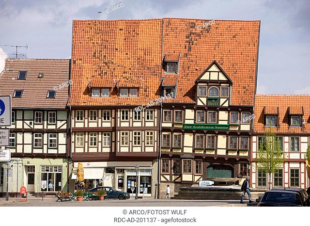 Hotel 'Zur goldenen Sonne', Quedlinburg, Saxony-Anhalt, Germany