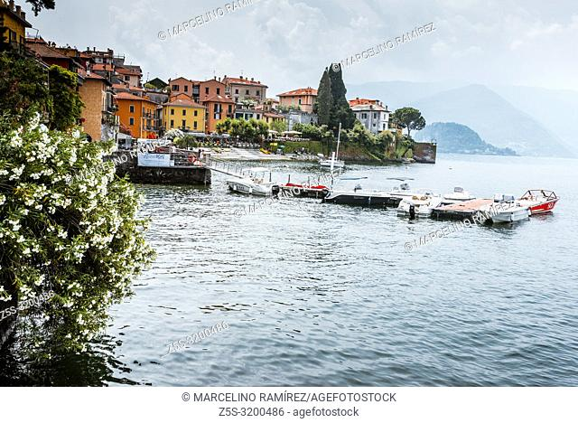 Varenna is a comune on Lake Como in the Province of Lecco in the Italian region Lombardy. Varenna, Province of Lecco, Lombardy, Italy, Europe