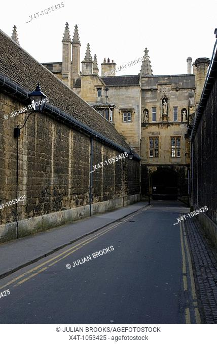 New College Lane Oxford