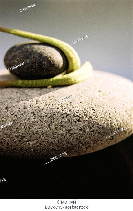 Stones and peduncles