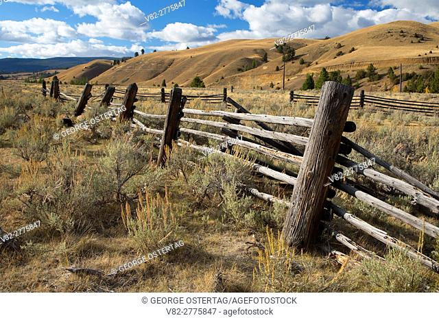 Corral on Carlson Ranch, Beaverhead-Deerlodge National Forest, Montana